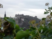 Edinburgh Castle from Calton Hill, © Michael Batey